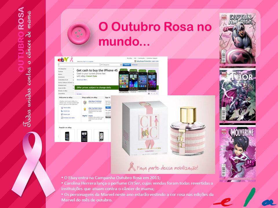 O Outubro Rosa no mundo... OUTUBRO ROSA