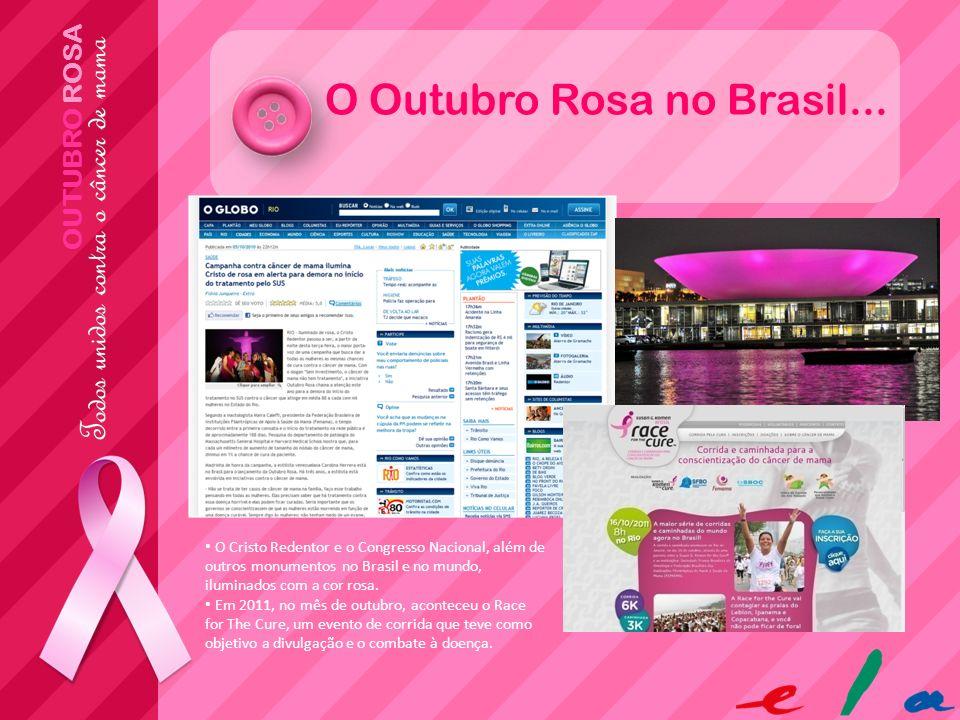 O Outubro Rosa no Brasil...