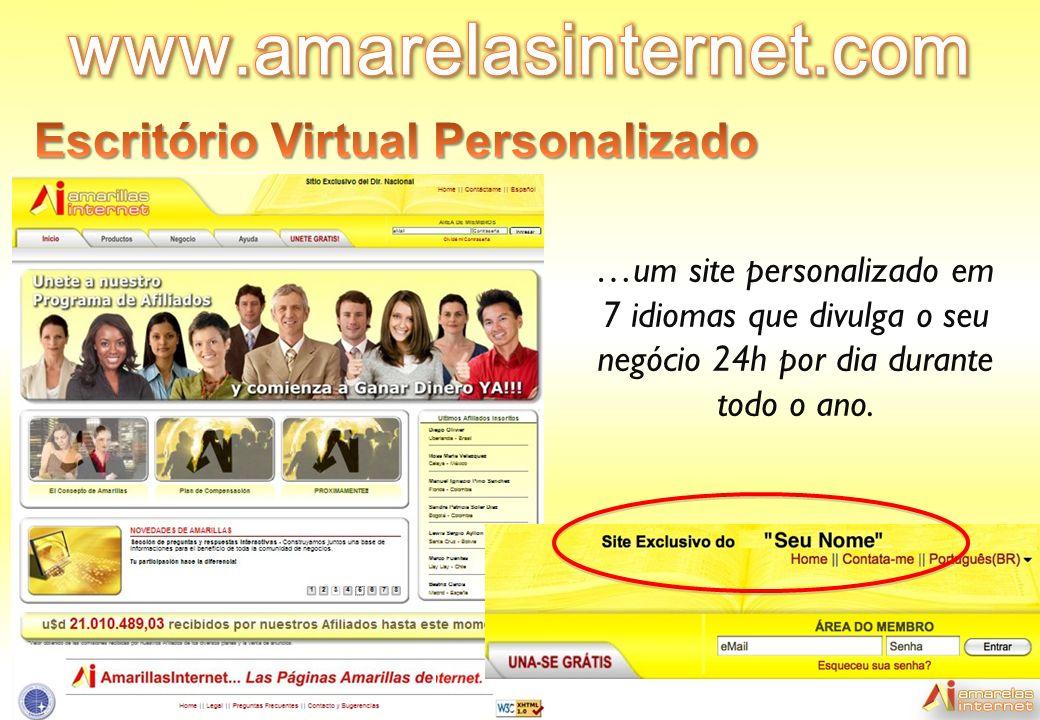 www.amarelasinternet.com Escritório Virtual Personalizado
