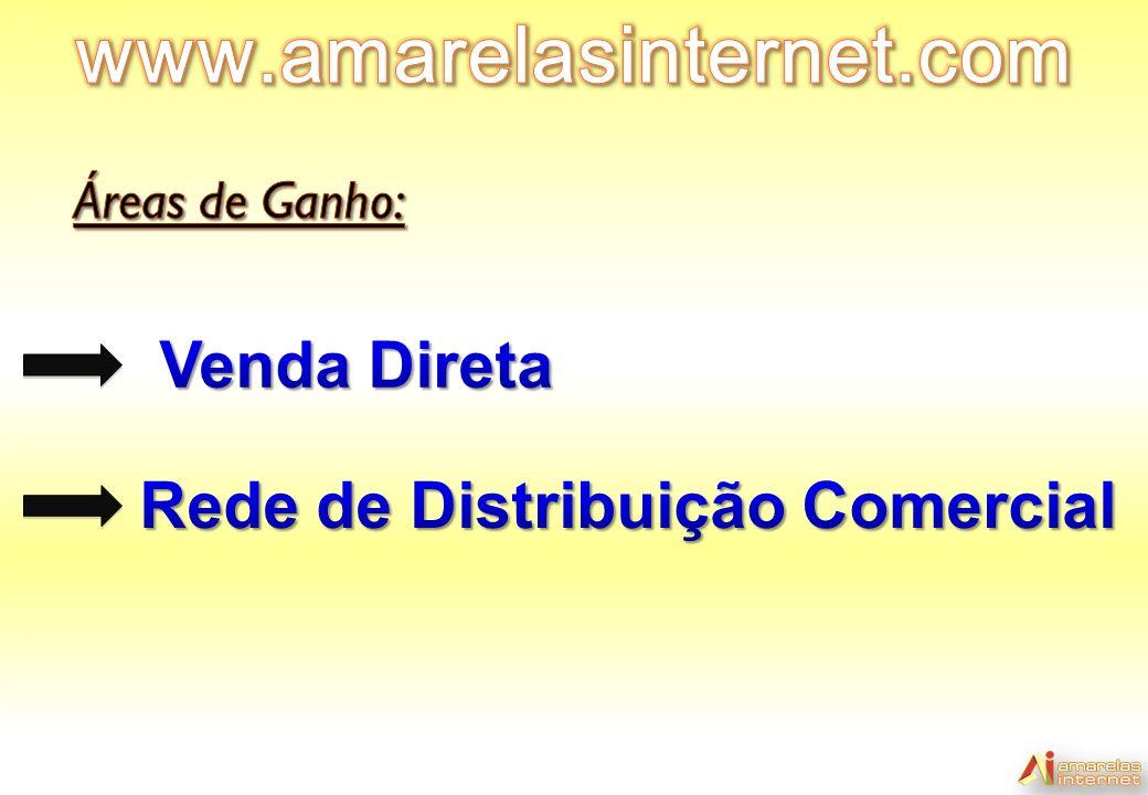 www.amarelasinternet.com Venda Direta Rede de Distribuição Comercial