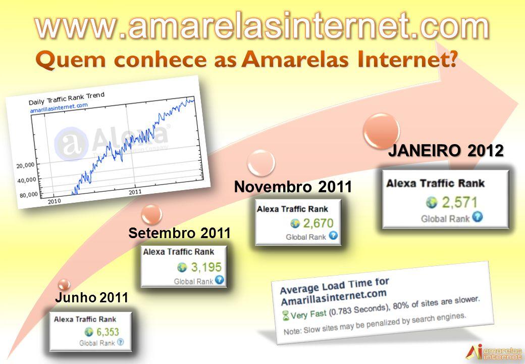 www.amarelasinternet.com Quem conhece as Amarelas Internet