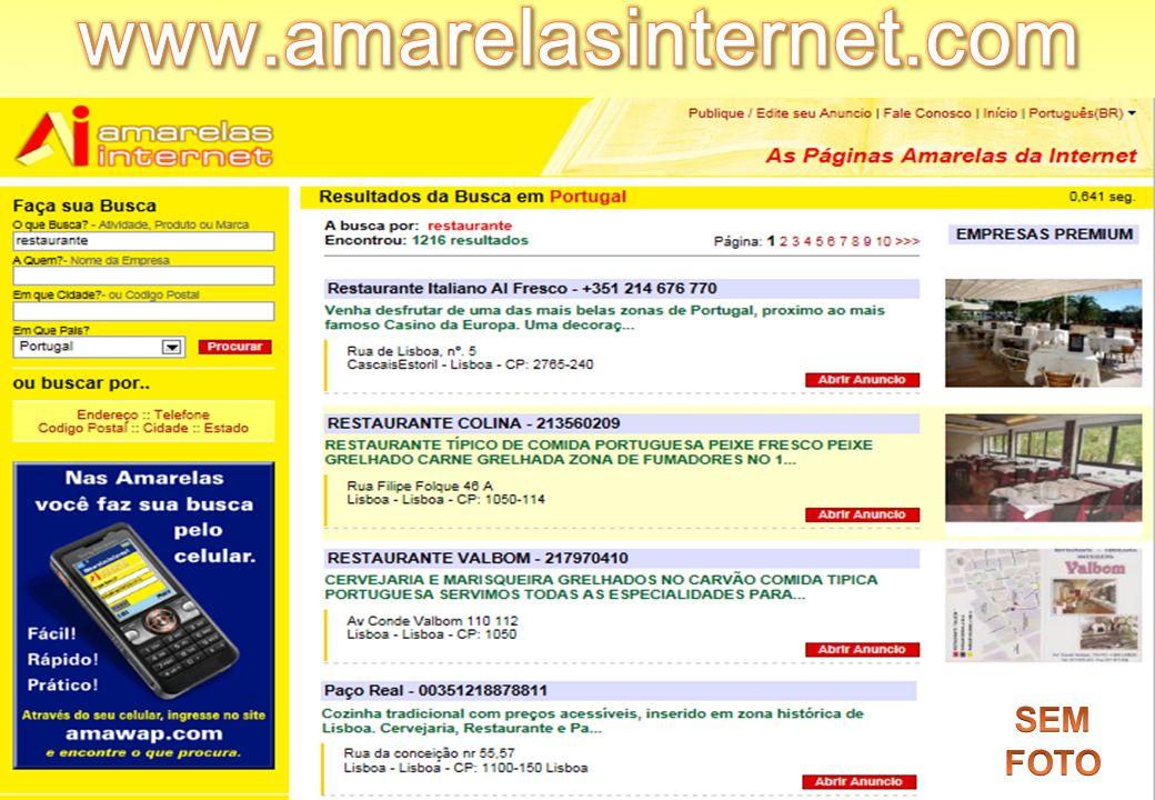 www.amarelasinternet.com Sem Foto SEM FOTO SEM FOTO