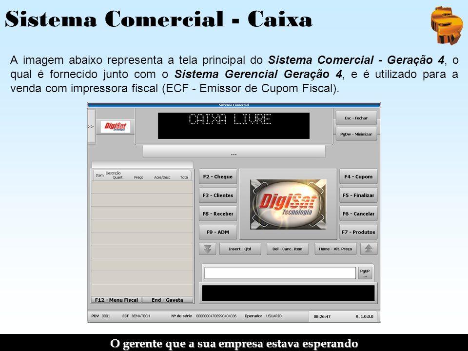 Sistema Comercial - Caixa