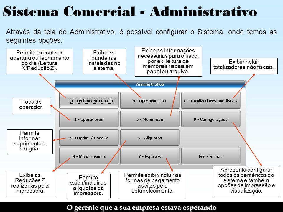 Sistema Comercial - Administrativo
