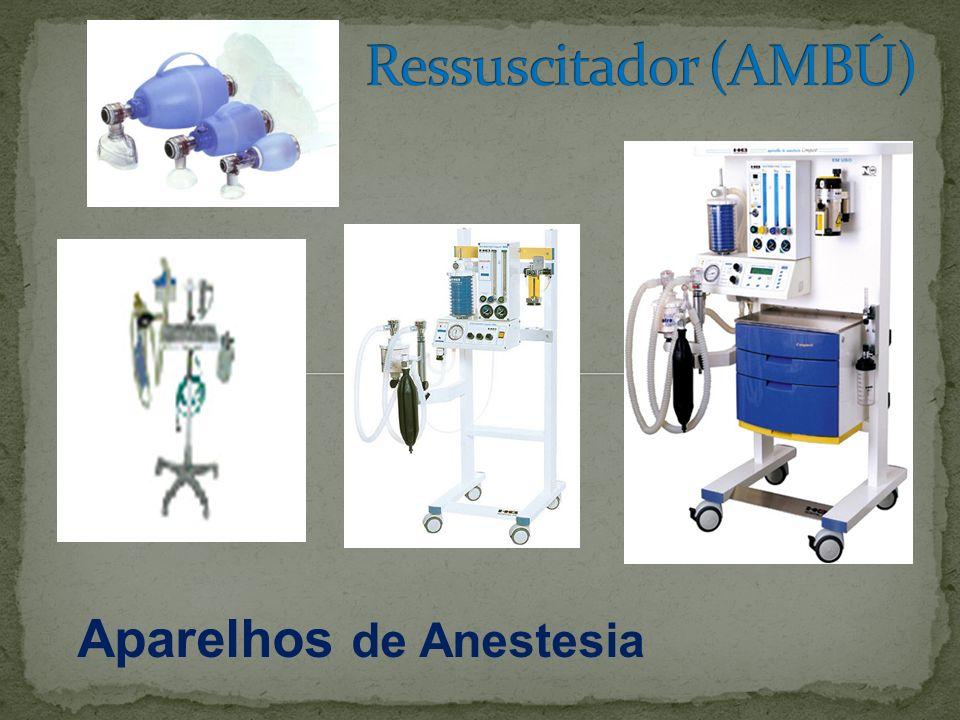 Ressuscitador (AMBÚ) Aparelhos de Anestesia