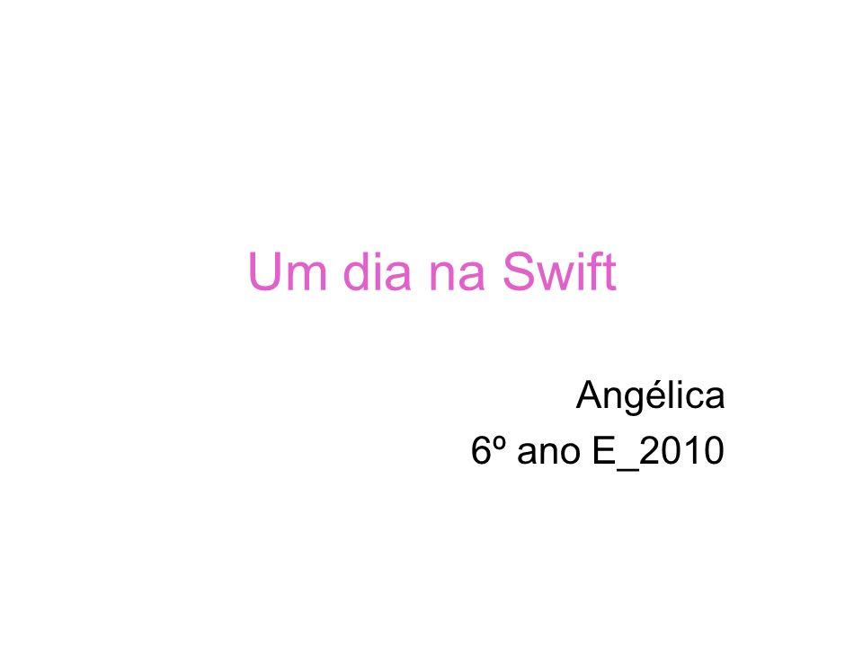 Um dia na Swift Angélica 6º ano E_2010