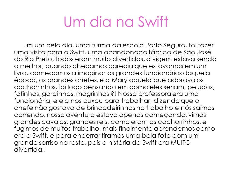 Um dia na Swift