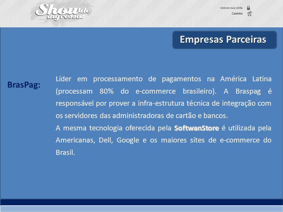 Empresas Parceiras BrasPag: