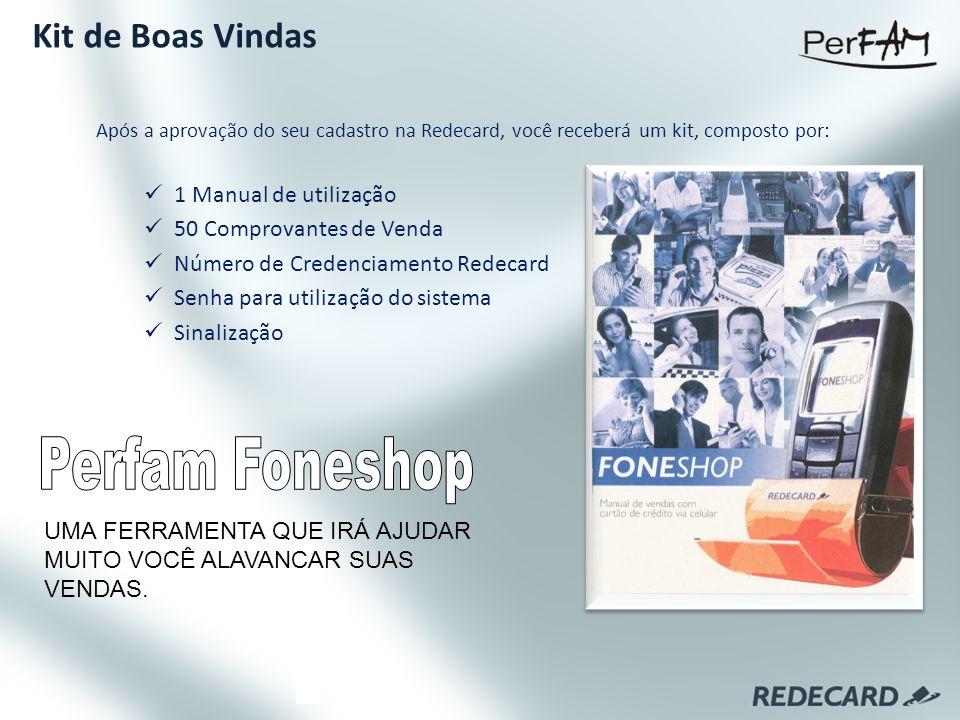 Perfam Foneshop Kit de Boas Vindas 1 Manual de utilização
