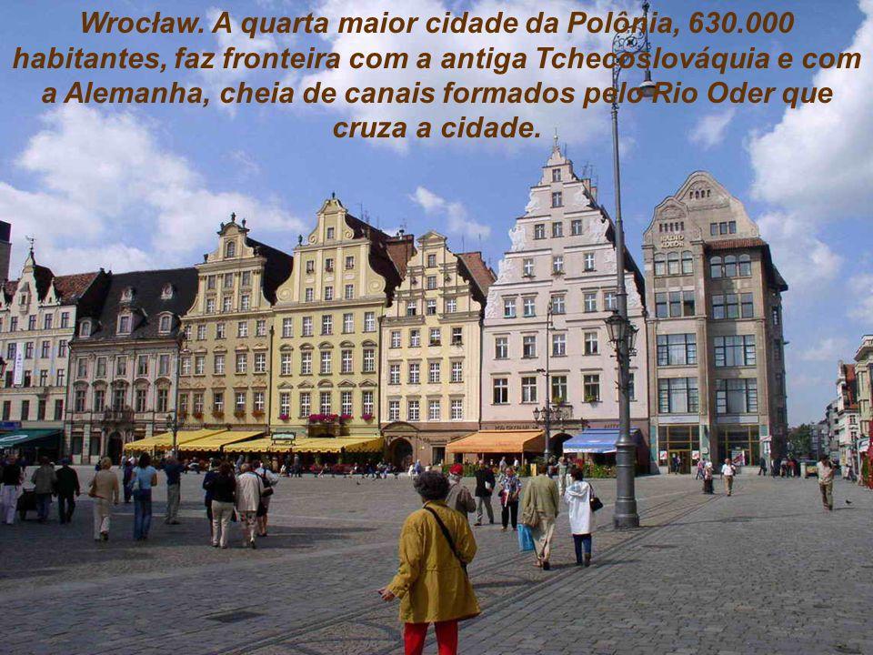 Wrocław. A quarta maior cidade da Polônia, 630