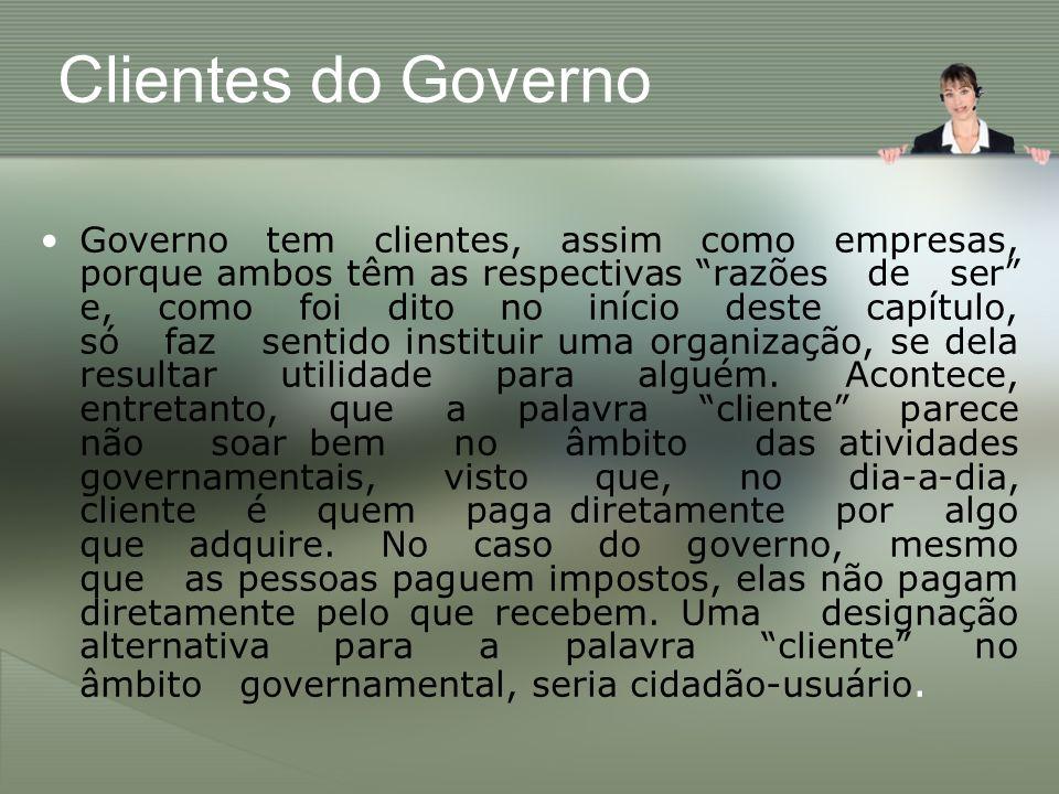 Clientes do Governo