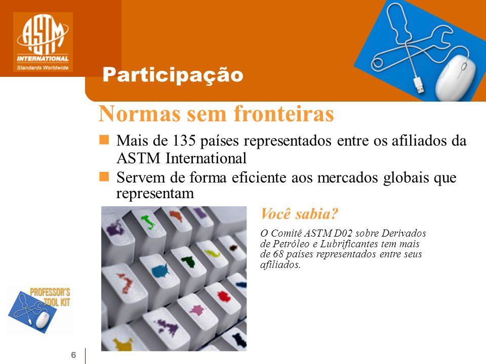 Normas sem fronteiras Participação