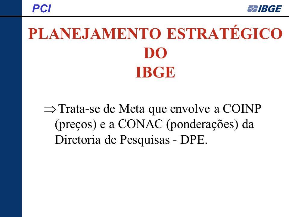 PLANEJAMENTO ESTRATÉGICO DO IBGE