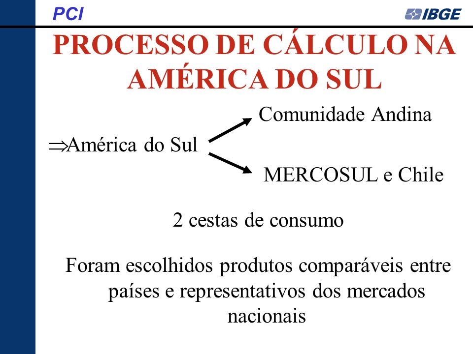 PROCESSO DE CÁLCULO NA AMÉRICA DO SUL