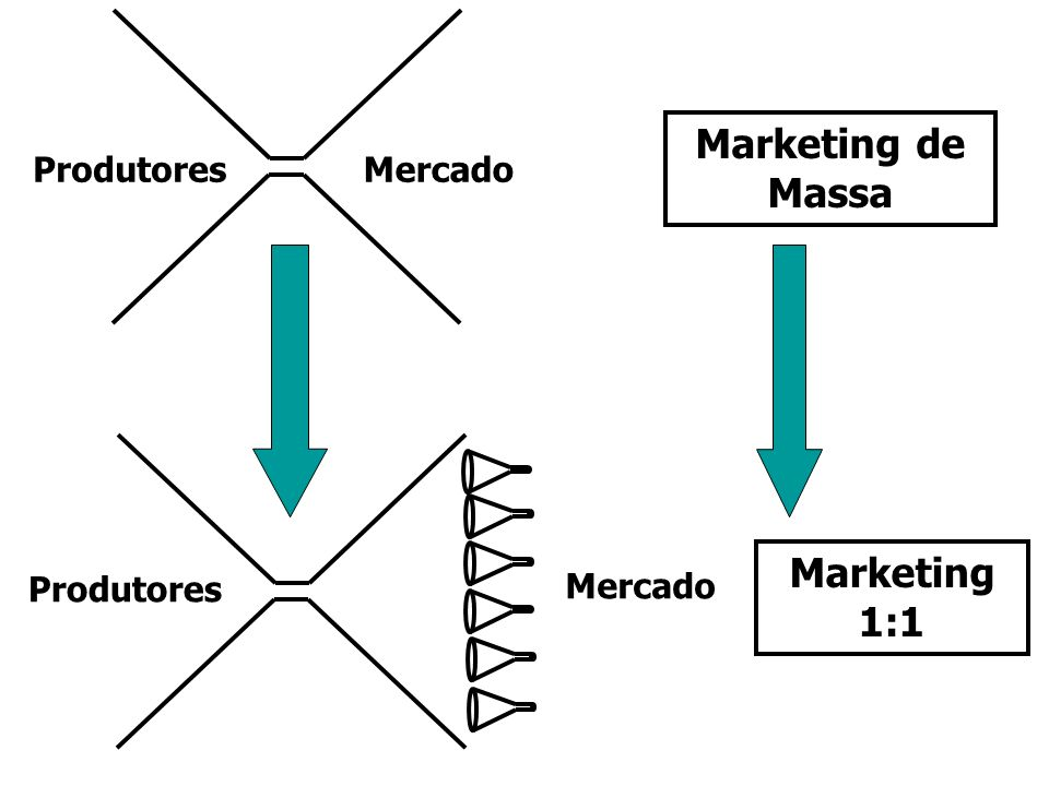 Marketing de Massa Marketing 1:1