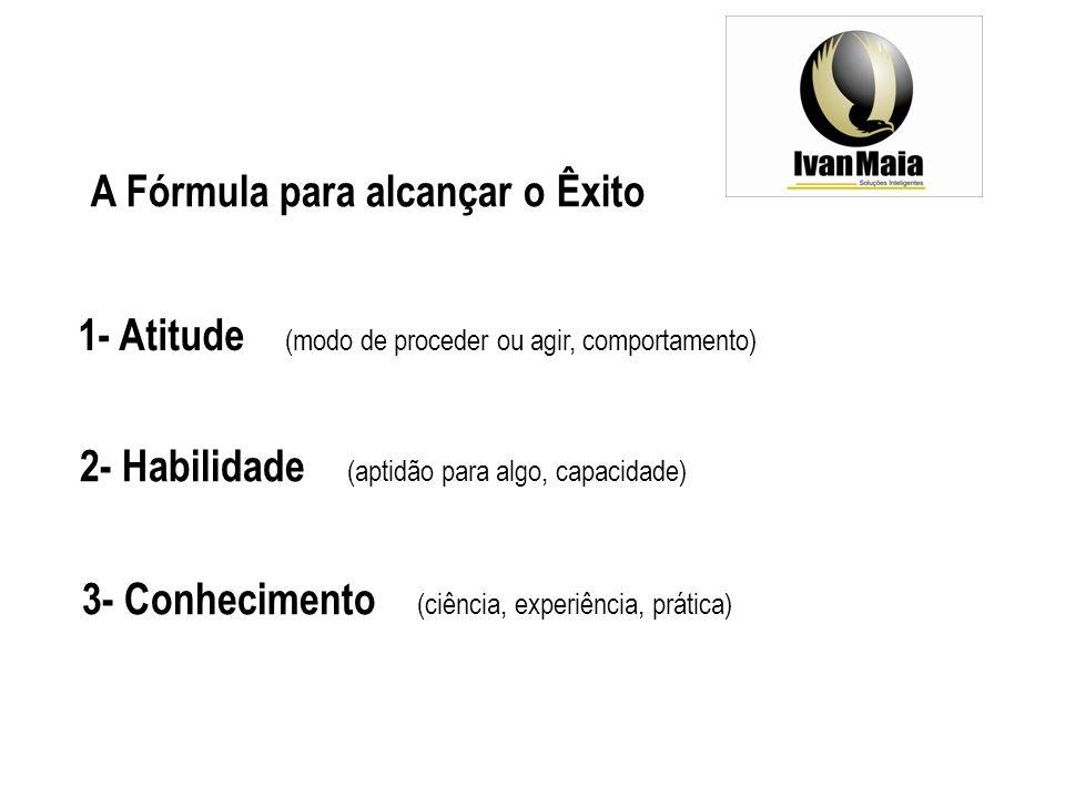A Fórmula para alcançar o Êxito