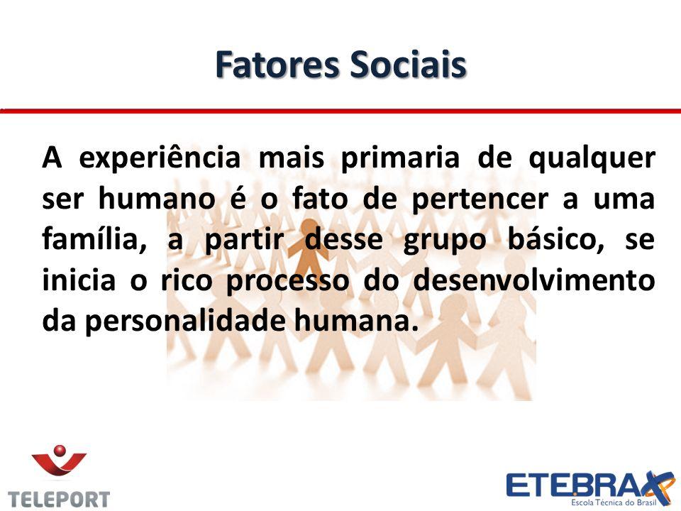Fatores Sociais