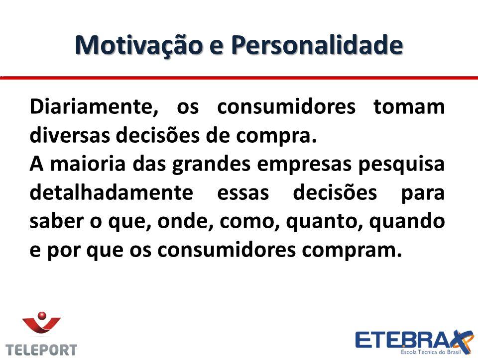 Motivação e Personalidade
