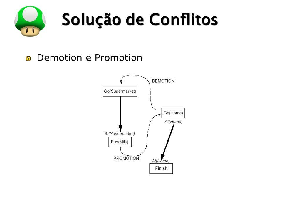 Solução de Conflitos Demotion e Promotion
