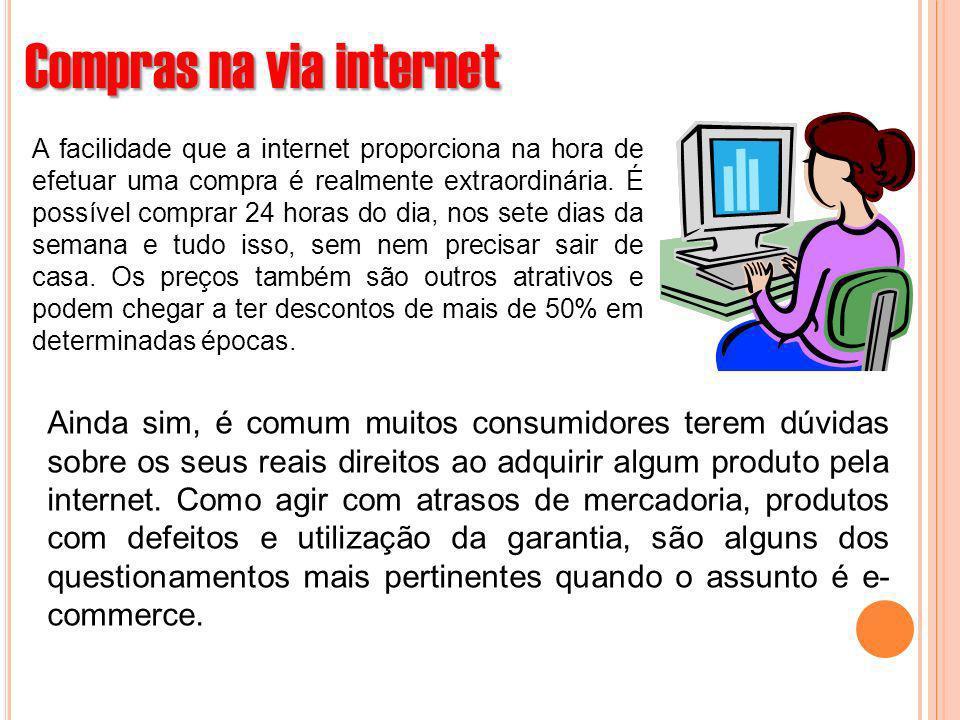 Compras na via internet