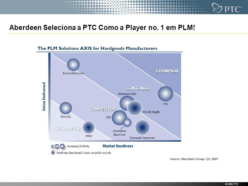 Aberdeen Seleciona a PTC Como a Player no. 1 em PLM!