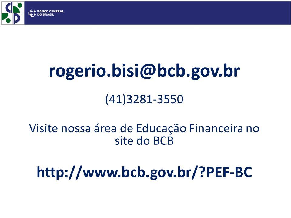 Visite nossa área de Educação Financeira no site do BCB