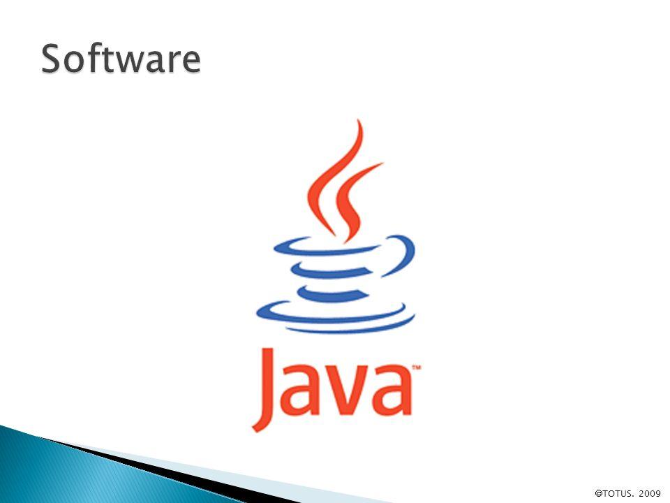 Software TOTUS. 2009