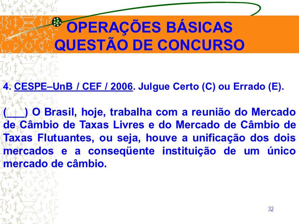 OPERAÇÕES BÁSICAS QUESTÃO DE CONCURSO