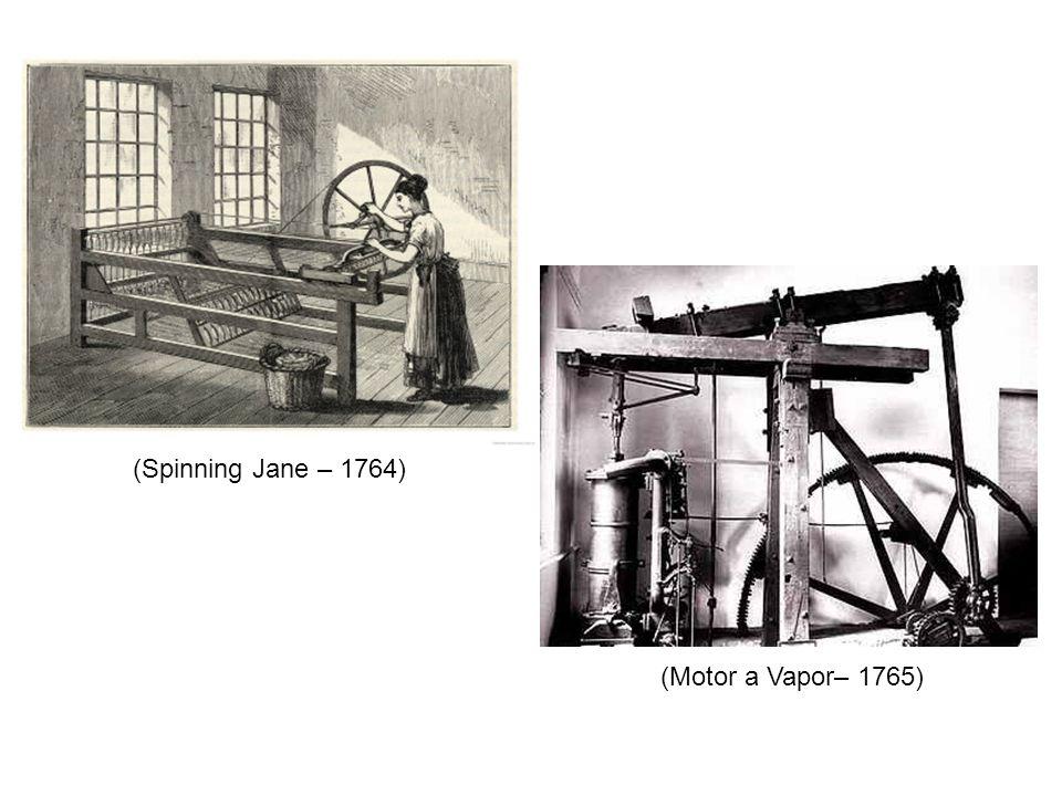 (Spinning Jane – 1764) (Motor a Vapor– 1765)