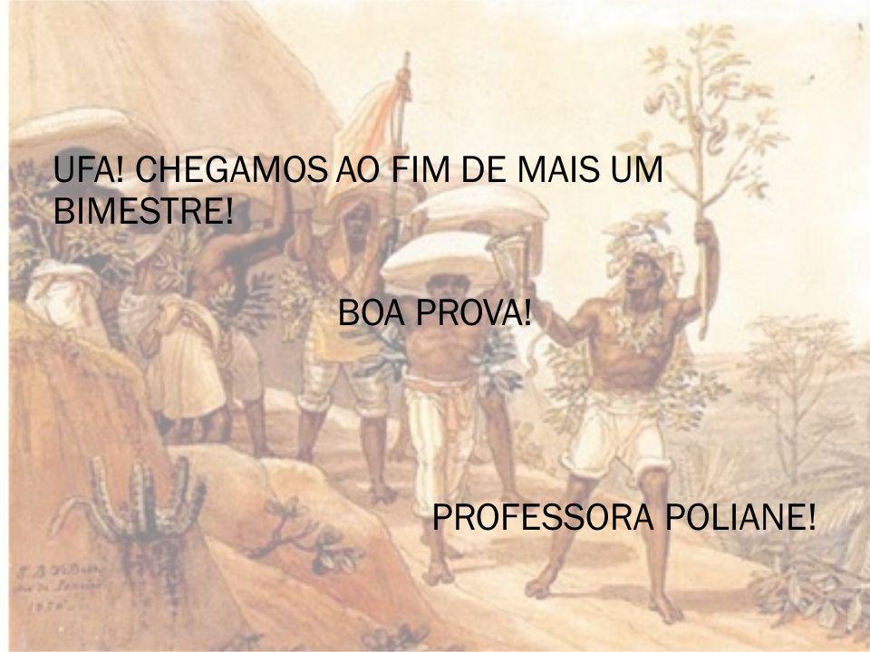 UFA! CHEGAMOS AO FIM DE MAIS UM BIMESTRE!