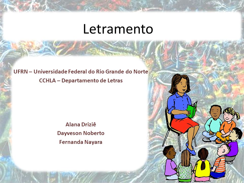 Letramento UFRN – Universidade Federal do Rio Grande do Norte