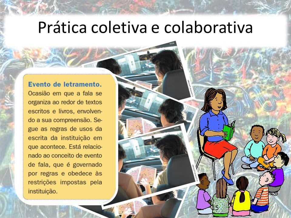 Prática coletiva e colaborativa