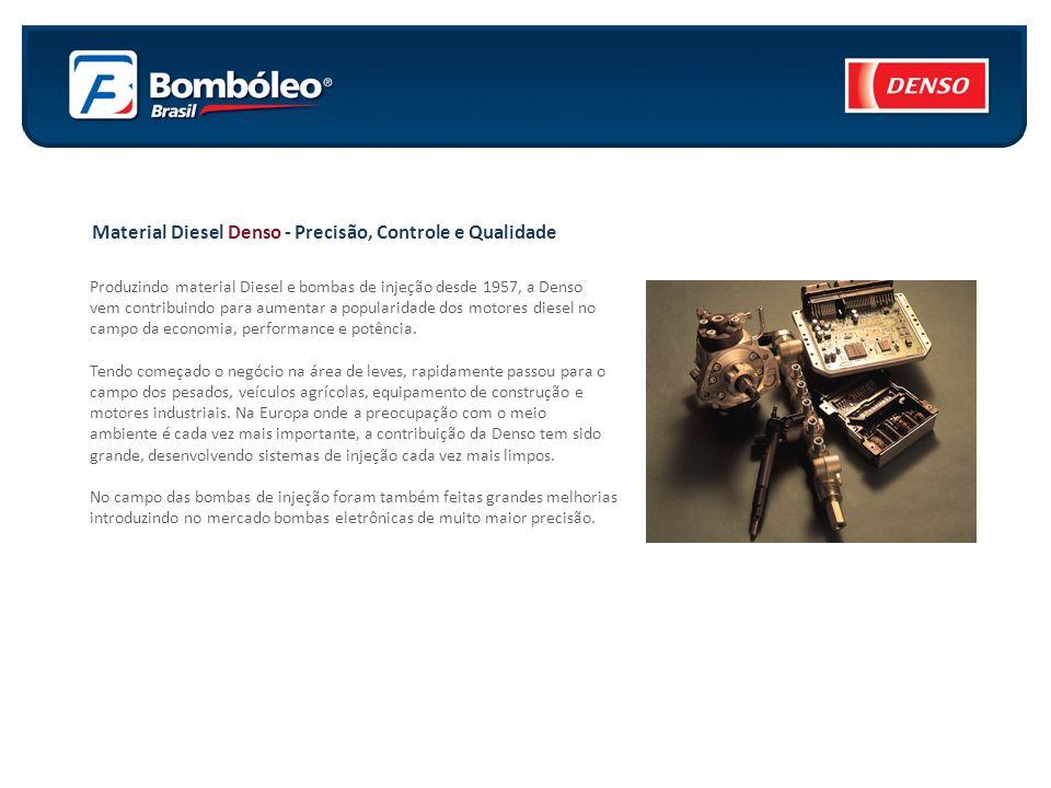 Material Diesel Denso - Precisão, Controle e Qualidade
