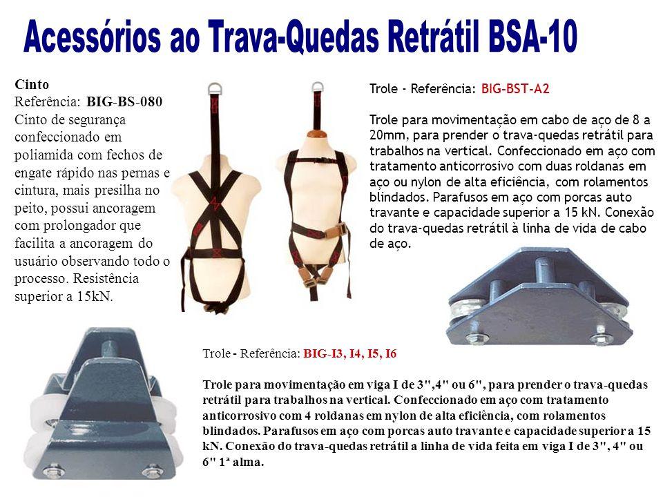 Acessórios ao Trava-Quedas Retrátil BSA-10