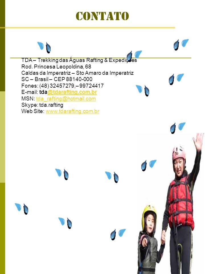contato TDA – Trekking das Águas Rafting & Expedições