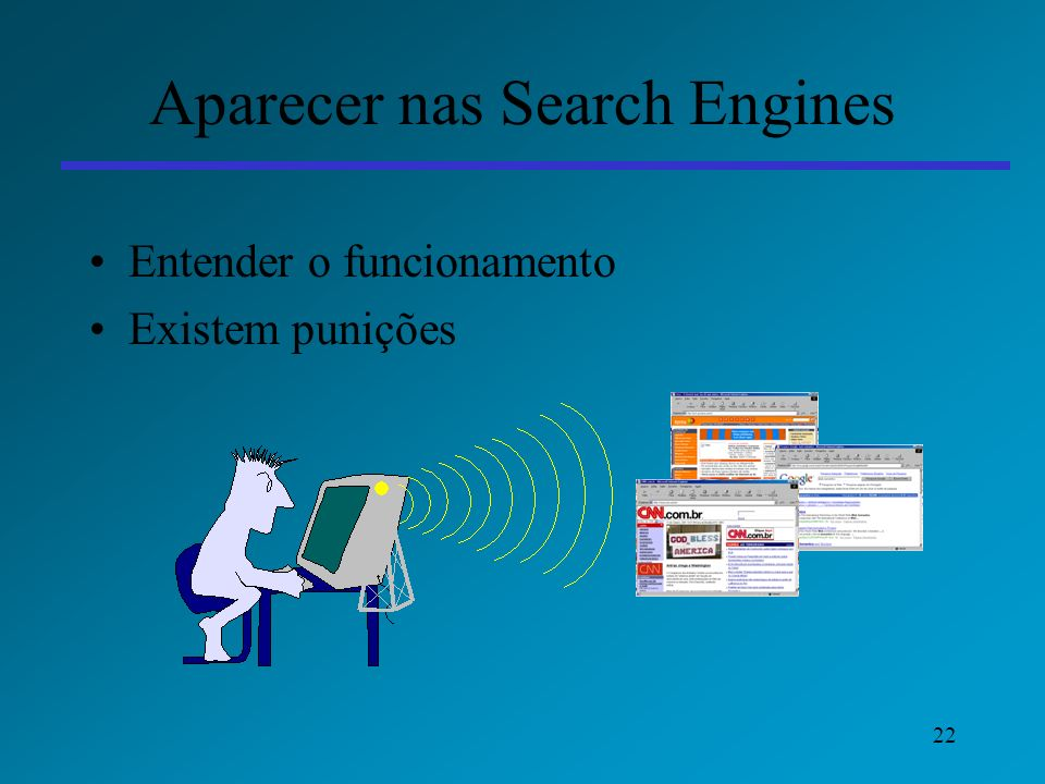 Aparecer nas Search Engines