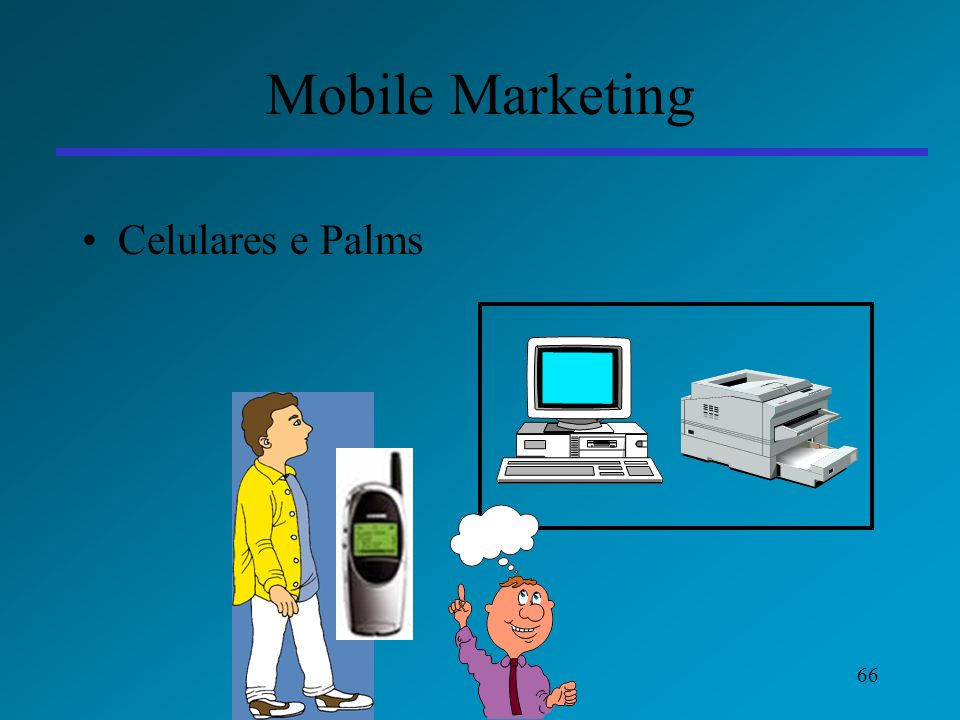 Mobile Marketing Celulares e Palms
