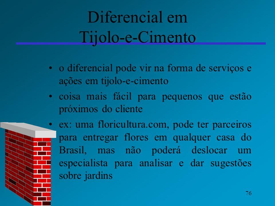 Diferencial em Tijolo-e-Cimento