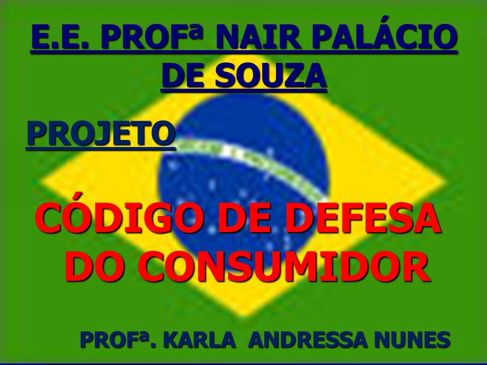 E.E. PROFª NAIR PALÁCIO DE SOUZA