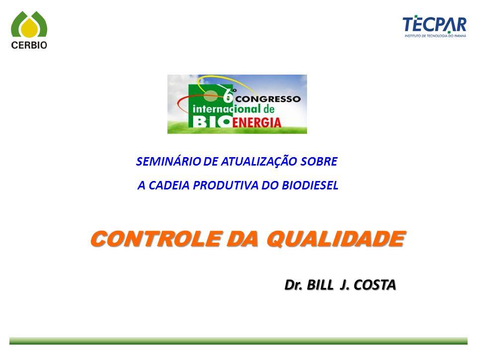 SEMINÁRIO DE ATUALIZAÇÃO SOBRE A CADEIA PRODUTIVA DO BIODIESEL