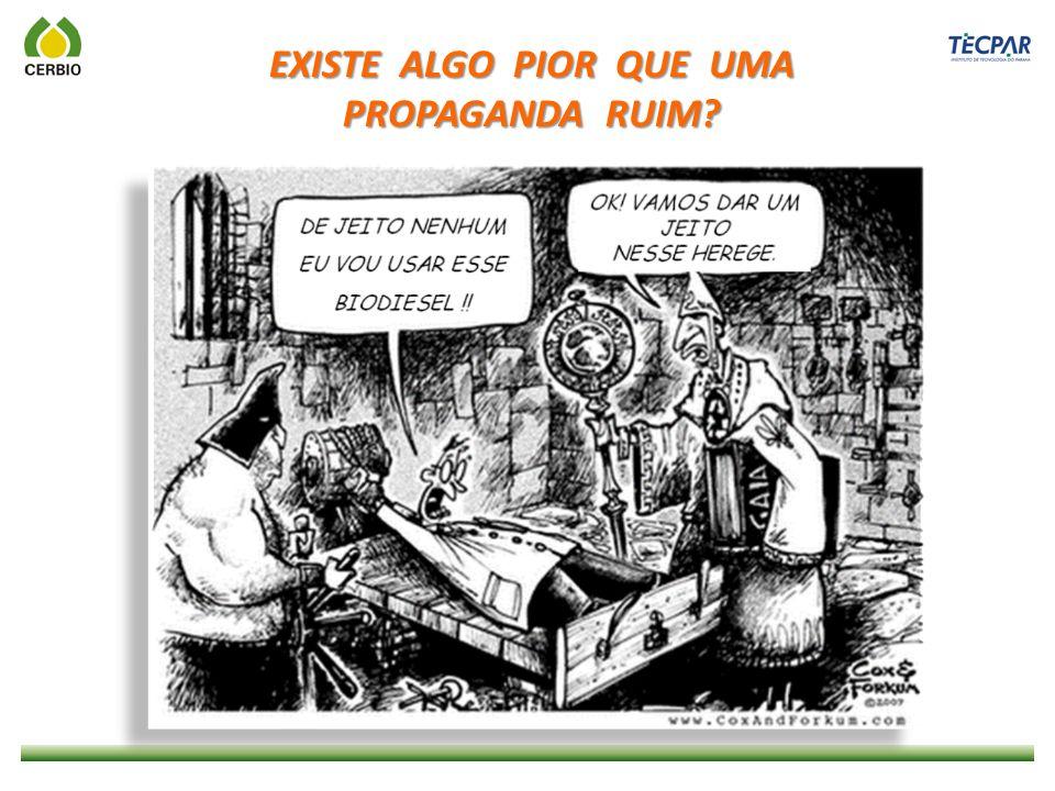 EXISTE ALGO PIOR QUE UMA PROPAGANDA RUIM