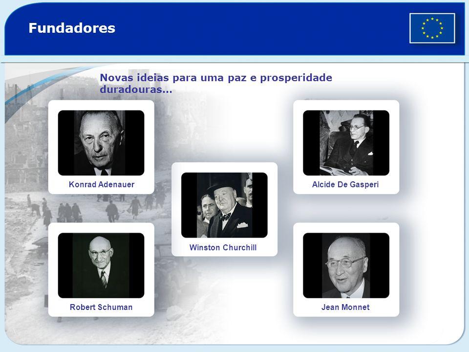 Fundadores Novas ideias para uma paz e prosperidade duradouras...