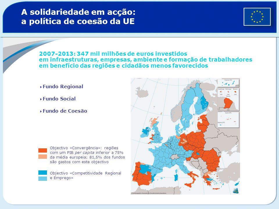 A solidariedade em acção: a política de coesão da UE