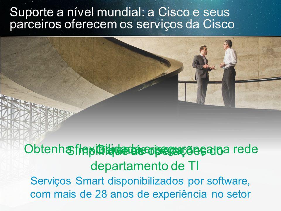 Obtenha flexibilidade e segurança na rede