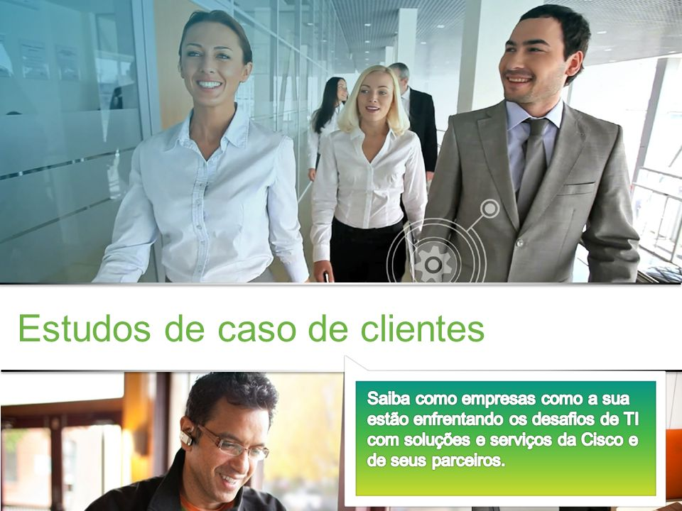 Estudos de caso de clientes