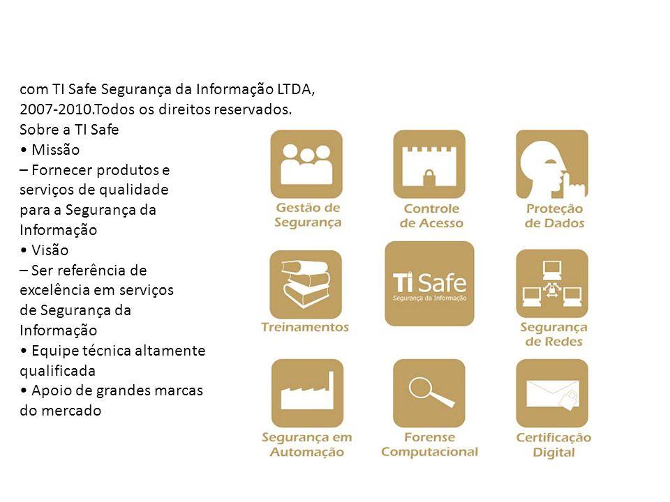 com TI Safe Segurança da Informação LTDA, 2007-2010