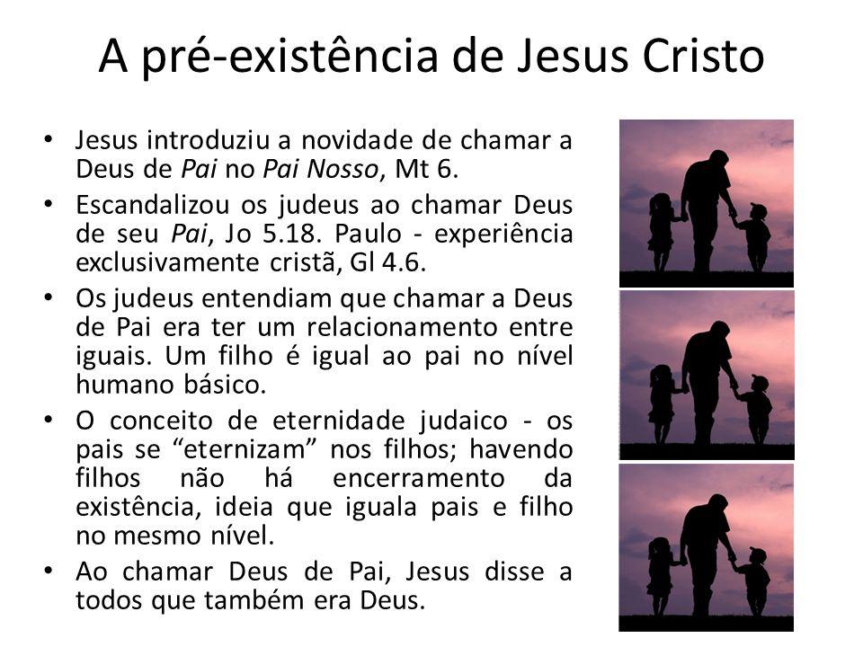 A pré-existência de Jesus Cristo