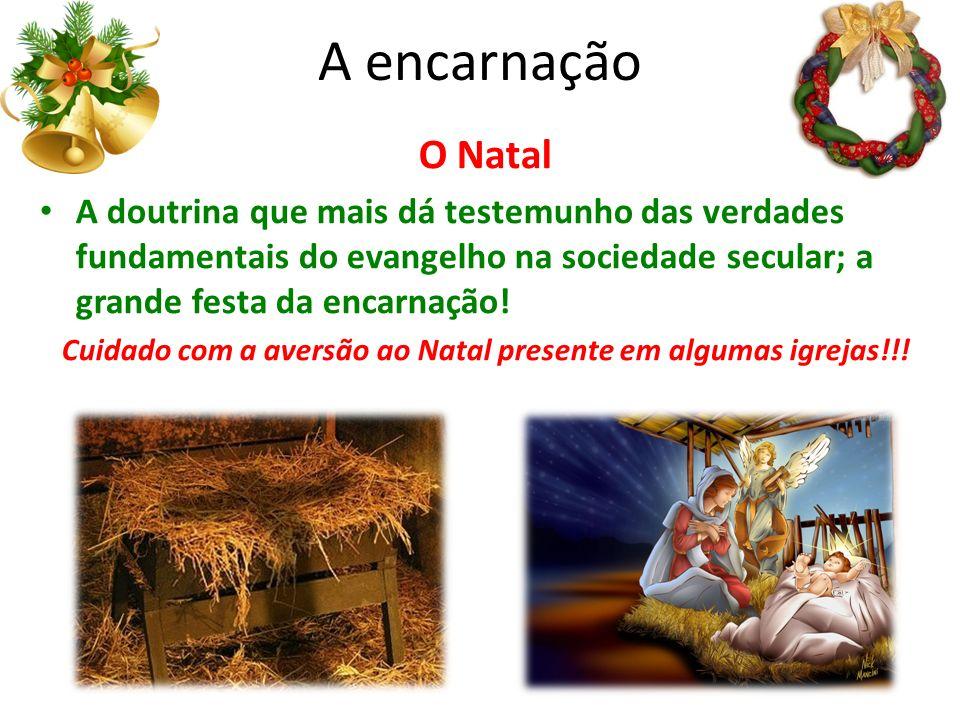 Cuidado com a aversão ao Natal presente em algumas igrejas!!!