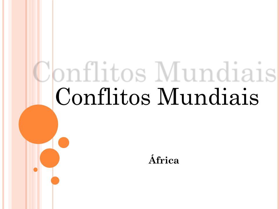 Conflitos Mundiais África