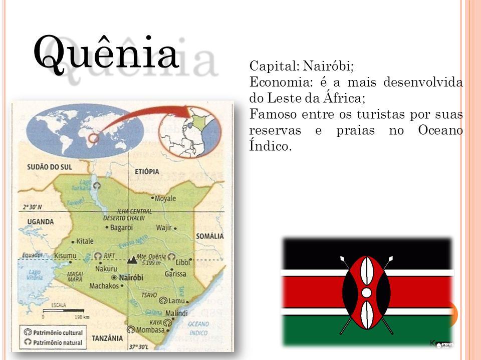 Quênia Capital: Nairóbi;